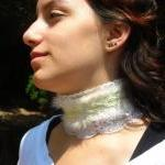 Softness Victorian Feather Collar g..